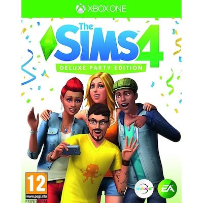 The Sims 4 - Deluxe Party Edition (XOne) - Xbox One Spel
