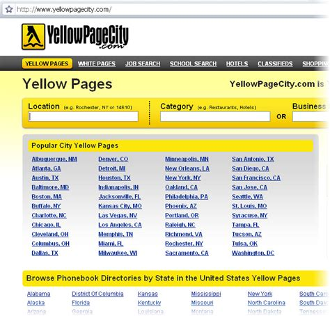 yellow-pages-usa | USA Yellow Pages Online | By: Doug