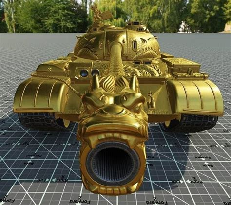 World of Tanks Type 59 Gold hd model | MMOWG