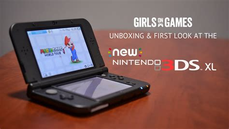 New Nintendo 3DS XL: Unboxing & First Look - YouTube