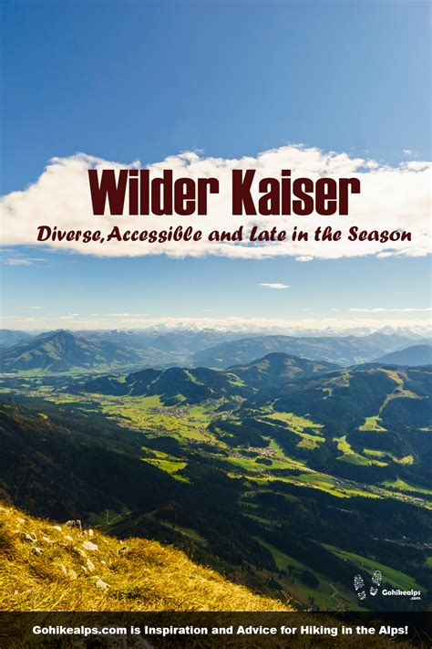Tour of the Wilder Kaiser in 2020   Hiking destinations