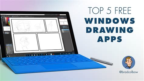 Testing 5 Free Windows Drawing apps - YouTube