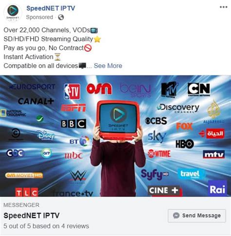 Is Facebook profiting from illegal streaming?   Comparitech
