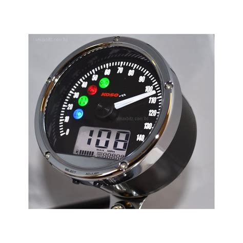 Koso UK, CRB01s Speedometer, TNT01s with warning lights, 80mm