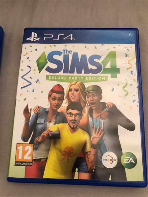 Sims 4 Deluxe Party Edition - PS4 | in Boldon Colliery