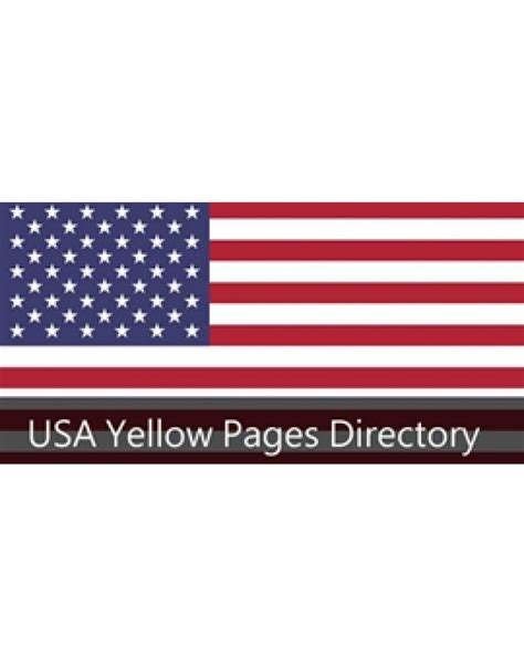 USA Yellow Pages Directory, Yellow Pages USA, USA Yellow