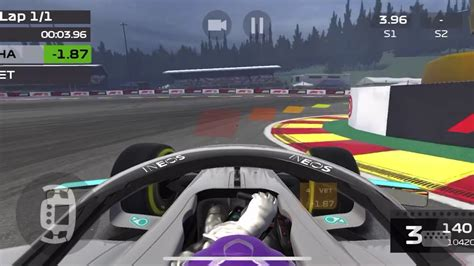 F1 Mobile Racing 2020 - Spa (qualifying lap) - YouTube