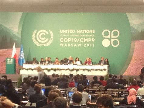 COP 19 Update: Delivering the Message • The National