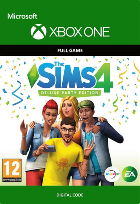 The Sims 4 - Deluxe Party Edition | Xbox One | CDKeys