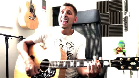 Foo Fighters - Learn To Fly (Acoustic Cover) - YouTube