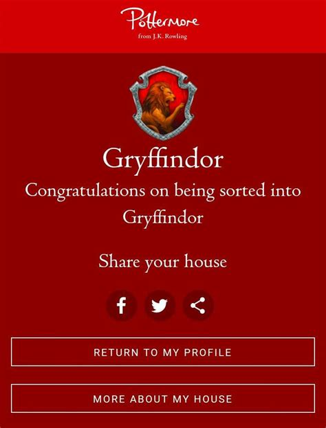 Pottermore House Quiz - House Plans-and-Designs