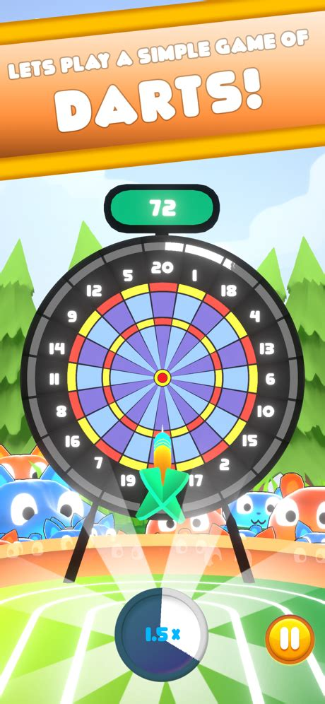 Spinning Darts League - A darts game with a twist