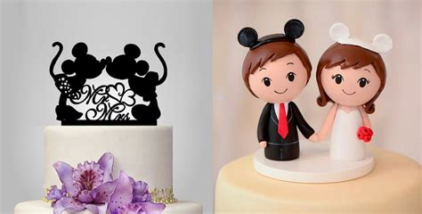 27 Magical Disney Wedding Cake Toppers - This Fairy Tale Life
