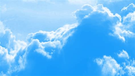 Clouds background video - YouTube