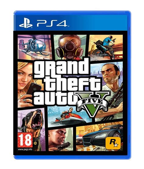Buy Grand Theft Auto V (PS4) Online at Best Price in India