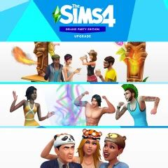 Die Sims™ 4 Deluxe Party Edition-Upgrade auf PS4