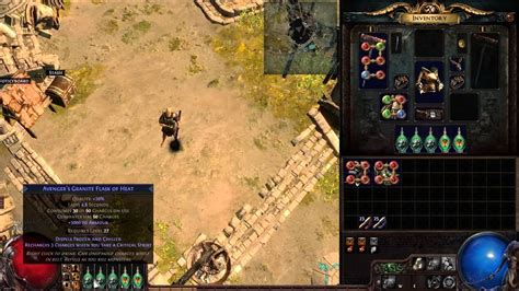 *outdated* Path of Exile: Optimal Cast on Damage Taken