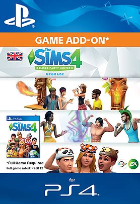 Buy The Sims™ 4 Deluxe Party Edition Upgrade on
