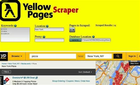 Scrape yellow pages usa,uk,canada business leads with